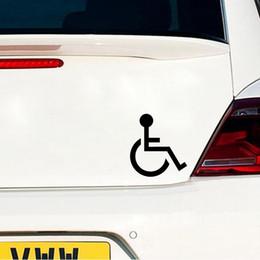 15 * 13,6 cm Handicap Rollstuhl Zeichen Vinyl Aufkleber Gestanzte Aufkleber Motorrad SUVs Autoscooter Fenster Laptop Auto Stylings Symbol von Fabrikanten