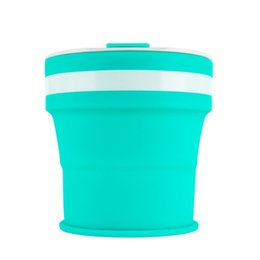 US $219.45 |DHL 50pcs 350ml Folding Silicone Portable Silicone Telescopic Drinking Collapsible coffee cup multi function folding cup Travel|Coffee