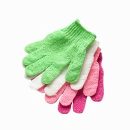 de7003e537c4b loofah cloth NZ - Moisturizing Spa Skin Care Cloth Bath Glove Exfoliating  Gloves Cloth Scrubber Face