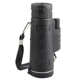 Militaire hd en Ligne-40x60 Hd Vision Poche Monoculaire Télescope Vision Nocturne Mini Télescope Haute Définition Militaire Clip Portée Pour Voyage Chasse T190627