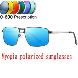 16c8d908d4 2019 Custom Made Myopia Minus Prescription Polarized Lens Sunglasses Men Designer  Vintage mirror Sun Glasses Male Goggles FML polarized prescription ...