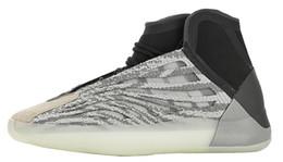 2019 scarpe da basket di kanye west Scarpe da basket da uomo di marca Quantum da uomo Kanyewest 3M Sneakers Uomo Kanye West Scarpa sportiva Uomo Riflettente Sport Chaussures Scarpe da ginnastica da uomo scarpe da basket di kanye west economici