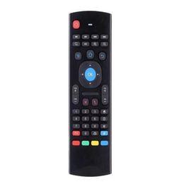 laptop-zentrum Rabatt MX3 Drahtlose Tastatur 2,4 GHz Air Mouse Fernbedienung Somatosensorische IR Lernen 6 Achsen Für MX3 MXQ M8 Android TV BOX