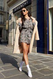 2019 plus größe boden bank bank kleider Goldketten bedrucktes Hemdkleid für Frauen-Kleidung Designer Einreiher Buttlefly Ärmel Kleider