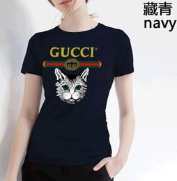 5e4ed385903d9 luxury Brand designer di abbigliamento TShirts abbigliamento Hip Hop  Fashion T-shirt da donna O-Collo Love Print Womens T-shirt a manica corta cat  cat