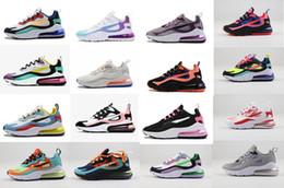 Zapatos de mujer online-Aires mujeres blanqueados Coral 27c reaccionan TN zapatos para correr gris y naranja En mi se siente Bauhaus óptico de tres negros zapatillas deportivas entrenador 36-40