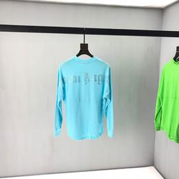 2019 camisas de diamante mulheres New Palm Anjos T-shirt Das Mulheres Dos Homens 1 p: 1 Anjos Da Palma Grande Carta Top Tees Moda Casual Patch de Impressão de Diamantes Anjos Da Palma T Camisas camisas de diamante mulheres barato
