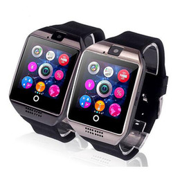 huawei u8 خصم Q18 الذكية ووتش كاميرا ساعة ذكية بلوتوث مع فتحة بطاقة سيم للياقة البدنية آخر المقتفي الرياضة ووتش لالروبوت الهواتف الذكية