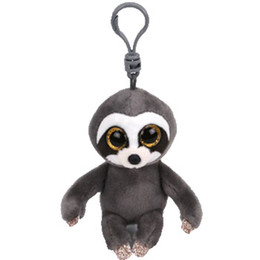 sloth toys Promo Codes - Ty Beanie Boos Big Eyes Plush Dangler The Sloth Keychain Toy Doll