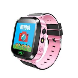 2019 nuevo reloj ruso 2019 Nuevo reloj inteligente para niños con pantalla táctil Reloj de cámara Localizador GPS SOS Llamada Smartwatch Anti Lost Inglés Idioma ruso rebajas nuevo reloj ruso