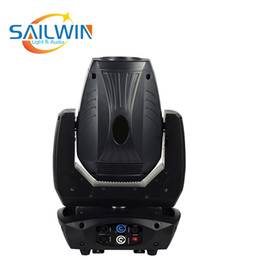 rueda de gobo Rebajas venta de la fábrica profesional de DJ partido de la barra etapa de la demostración de la luz blanca LED 200W 2IN1 de la viga del punto de luz DMX 512 Luz principal móvil