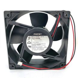 Ventilador de enfriamiento ebm online-Original EBM PAPST MULTIFAN 4314 24V 9W 120 * 120 * 38MM convertidor ventilador de enfriamiento de flujo axial 4414HH
