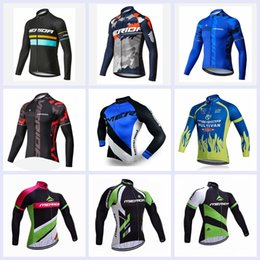 Canada 2019 Date Pro Team Merida Vélo Vêtements Hommes Manches Longues Hauts Vélo Jersey vêtements de vélo vtt vélo maillot ropa ciclismo A1103 cheap merida cycling tops Offre
