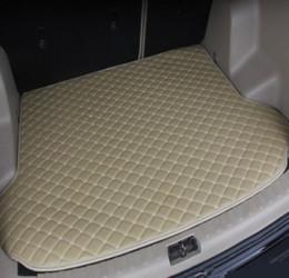 Carpete de troncos on-line-Frete grátis 2008-2019Years BMW X6 carro anti-derrapante Mat Trunk couro impermeável Tapete Car Mat Trunk Plano Pad