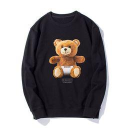 Новые стильные свитера онлайн-Mos 2019 новая мода мужчины и женщины с тем же свитером, стильный и удобный, дикие модели, ребенок медведь