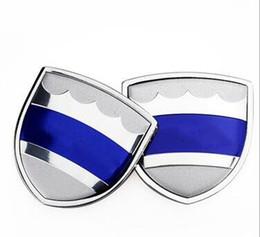 emblemas nismo Desconto ajuste 1pair 39x39mm Car Styling Zinc Alloy Car Side etiqueta do emblema do emblema Mark alta Qulity para Volvo