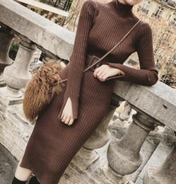vestido vermelho com lantejoulas Desconto Moda outono malha e vestido fino inverno