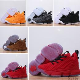 the best attitude a5652 f1c1d NIike Lebron XV EP 15 2018 Neue Designer-Schuhe 15 GLEICHHEIT Schwarz Weiß  Mode atmungsaktiv Basketball-Schuhe für Kinder 15s EP Sporttraining  Sneakers ...