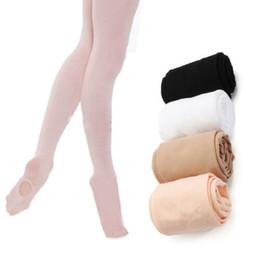 collants de ballet rose Promotion Collants convertibles de danse US Hot Kids Chaussettes de danse Pantyhose de ballet