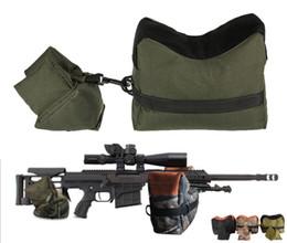 Taktik Ordu Sniper Çekim Tüfek Çantası FrontRear Destek Kum Torbası Açık Fotoğrafçılık Avcılık Hedef Standı Avcılık Silah Aksesuarları cheap bagging stand nereden torbalama standı tedarikçiler