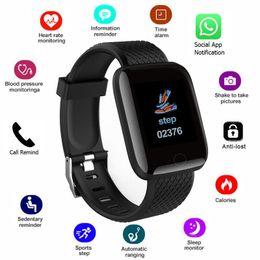 116 Artı akıllı izle bilezik spor izci uyku algılama nabız adımsayar aktivite monitör iphone Android için nereden