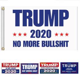 2019 конфетти серебро оптом 150 * 90 см Дональд Трамп 2020 Флаг Выборов для Президента США Хранить Американские Большой Флаг Баннер Сад Двор Партия Летающие Украшения DHL A5703
