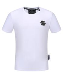 Diseñador de verano camiseta PP Skull camiseta Scary Skull and bones camiseta Skull skeleton tees para hombre desde fabricantes