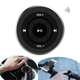 Горячая Беспроводная Bluetooth пульт дистанционного управления медиа кнопка для автомобиля рулевое колесо мотоцикла велосипед руль для iPhone для Android телефон от Поставщики ручка горячая
