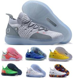 fdb2231f30a7 Basketball Shoes Kd 11 Sneakers Men Women Grey Eybl Still Emoji Twilight  Pulse Kevin Durant 11s XI 2018 Chaussure Basket Ball Sports Shoes