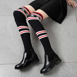 botas de corcho Rebajas Botas de fuerza elástica de 2019 nuevas mujeres de la moda calcetines Sexy para mujer Pierna delgada sobre la rodilla zapatos botas Mujer botas de nieve