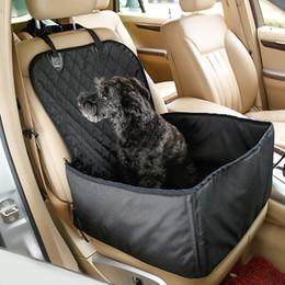 borse per il trasporto di cani Sconti Sacchetto di sede di corsa dell'automobile del cane dell'animale domestico Sacchetto di cuoio del cane del cucciolo di cane che riposa la borsa impermeabile della borsa di sicurezza dei prodotti di sicurezza della borsa del cuscino
