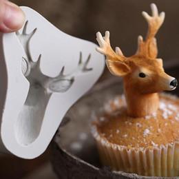 Noel Elk Başkanı Silikon Kabartmalı Kalıp Çikolatalı Kek Geyik Kalıpları Fondan Kalıp DIY Pişirme Dekorasyon Aracı Çerezler Kalıpları DBC VT0305 nereden