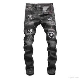 Мужские джинсы онлайн-2018. Новые моды высокого качества PH джинсы модные джинсы мужские джинсы PP