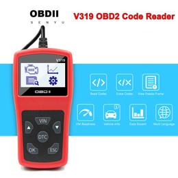 2020 mahindra carro obd2 scanner Leitores V319 Código OBD2 Leitor Scan Tool OBDII / EOBD Código V319 OBD 2 OBD2 Car Auto Diagnóstico ferramenta obd2 scanner VS ELM 327 V1.5 desconto mahindra carro obd2 scanner
