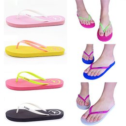 33c20a4831f160 Discount candies flip flops - Summer Love Pink Flip Flops Candy Colors  Beach Pools Slippers Shoes