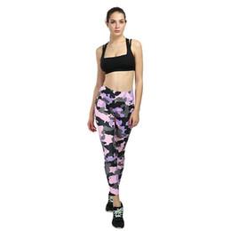 pantalón estampado digital Rebajas Venta al por mayor nuevo estilo Digital camuflaje impresión Yoga gimnasio Leggings leggings transpirables para mujeres moda Yoga pantalones cadera cintura alta Leggings