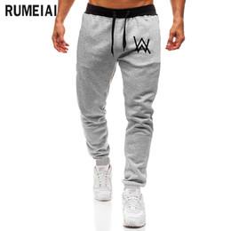 06603681e RUMEIAI Mens Pants Music DJ Comedy Alan Walker Casual Skinny Sweatpants  Trousers Hip hop Men Joggers Workout Pants Boy Trousers discount hip  sweatpants boys