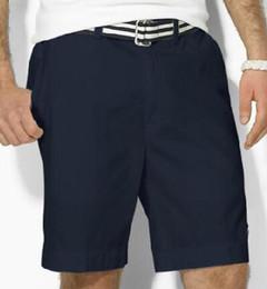Argentina 2018 Hombres del verano Pantalones cortos de polo sólido Hombre pony algodón traje de baño de alta calidad Troncos deportivos Pantalones cortos Tamaño S-XXL Blanco Negro Azul Suministro