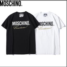 2019 bem-vindo curto Verão de alta qualidade dos homens elegantes de impressão boutique de manga curta T-shirt frete grátis bem-vindo ao comprar tamanho s-xxl bem-vindo curto barato