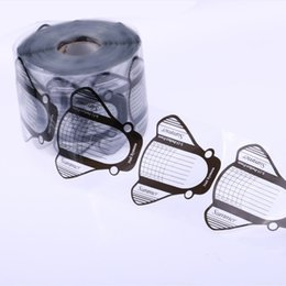 2019 estilos de unhas de acrílico 500 Pcs Prego Profissional Formas de Curva de Unhas de Acrílico Extensão Forma Forma Guia Dicas Francês Ferramentas de Estilo de Design estilos de unhas de acrílico barato