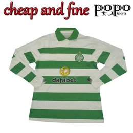 Camisas de futebol marrom on-line-2019 2020 manga longa Celtic Futebol GRIFFITHS BURNS BROWN 19 20 futebol camisa cheia S-2XL