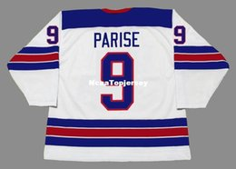 usa hockey jersey olimpico a buon mercato Sconti Personalizzato Mens Jerseys # 9 ZACH PARISE 2010 USA Cheap Olympic Retro Hockey Jersey