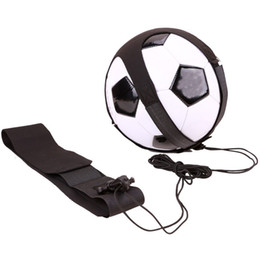 2019 football première ligue 1 PC Soccer Juggle Sacs Enfants Auxiliaire Ceinture De Circling Enfants Équipement De Formation De Football Réglable Kick Solo Soccer Trainer