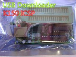 1 pc Nuevo PIC escritor / programador usb descarga K150 Interfaz ICSP compatible con kit2 kit3 línea de descarga Cable En stock Envío gratis desde fabricantes