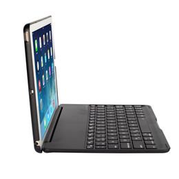 tableta italiana Rebajas Teclado inalámbrico Bluetooth Azerty Teclado ultra delgado de aluminio con teclado wiretooth y carcasa protectora para ipad9.7 pulgadas