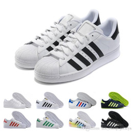 Weiß Der 80er Star Superstar Super Hologram Iridescent Junior Jahre Trainer Neuerscheinung Herren Designer Damen Freizeitschuhe Stolz Superstars 8OwP0kn