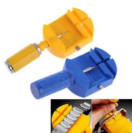 G armbanduhren online-Uhrmacher Werkzeug Link Für Band Schlitzband Armband Kette Pin Remover Uhrwerkzeuge Einsteller Uhrmacher Werkzeug Kits Pins 5 Remover Extra