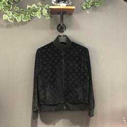 2019 giacche blu bomber 2019 autunno e inverno nuovi mens designer di lusso in pile Colore giacca blu e nero Asian SIZE ~ top di alta qualità bomber uomini sconti giacche blu bomber