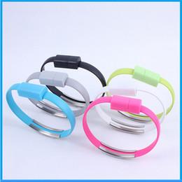 Wholesale Großhändler gute Qualität Armband Handgelenk USB Ladegerät Ladedaten Synchronisierungskabel für die meisten Handy Ypf13