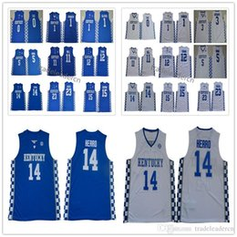 Jerseys parede john on-line-Kentucky Wildcats Tyler Herro John parede Anthony Davis DeMarcus primos Devin Booker Calipari 12 cidades 0 Fox Monk faculdade basquete Jerseys